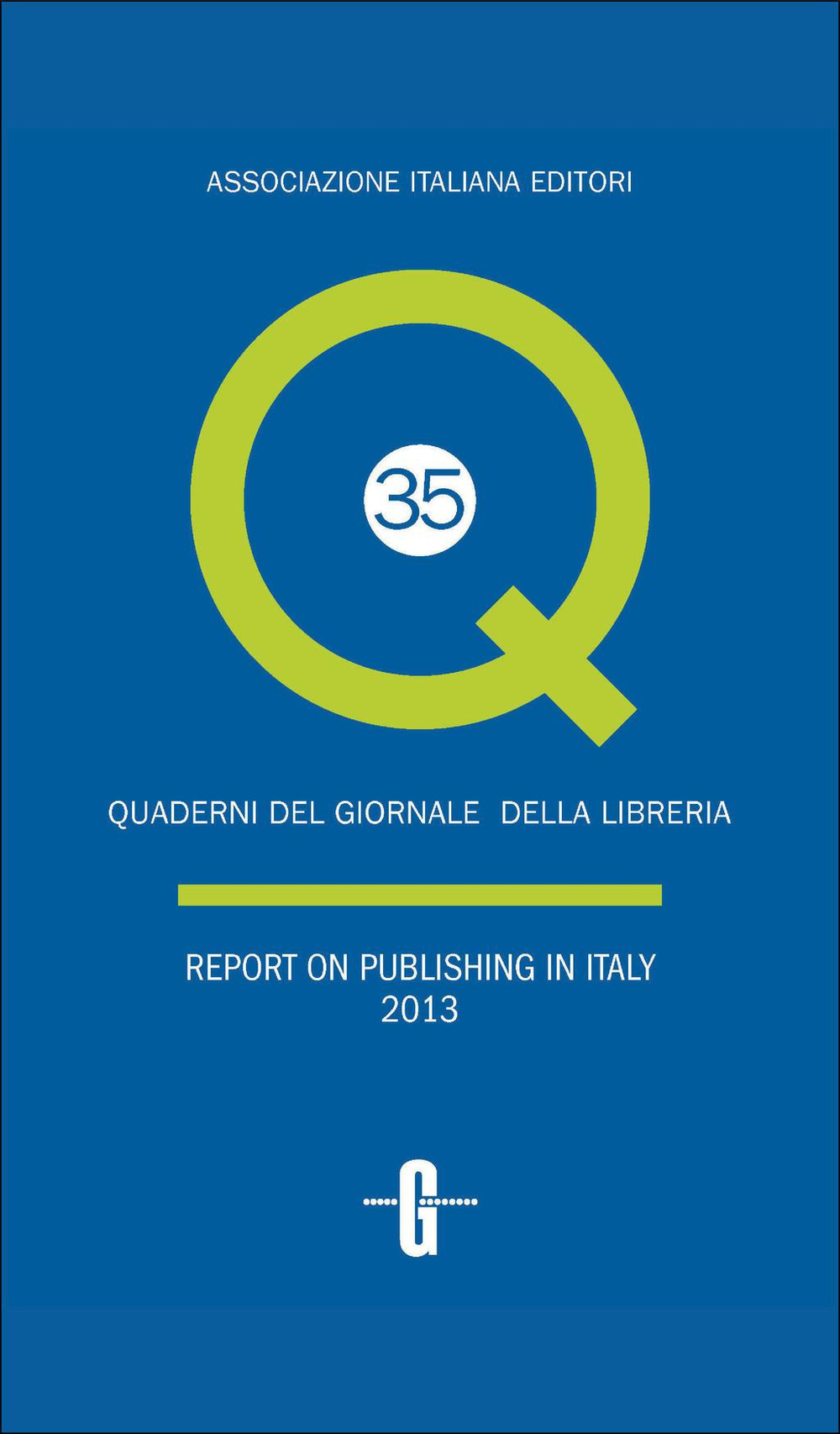 Report on publishing in Italy 2013