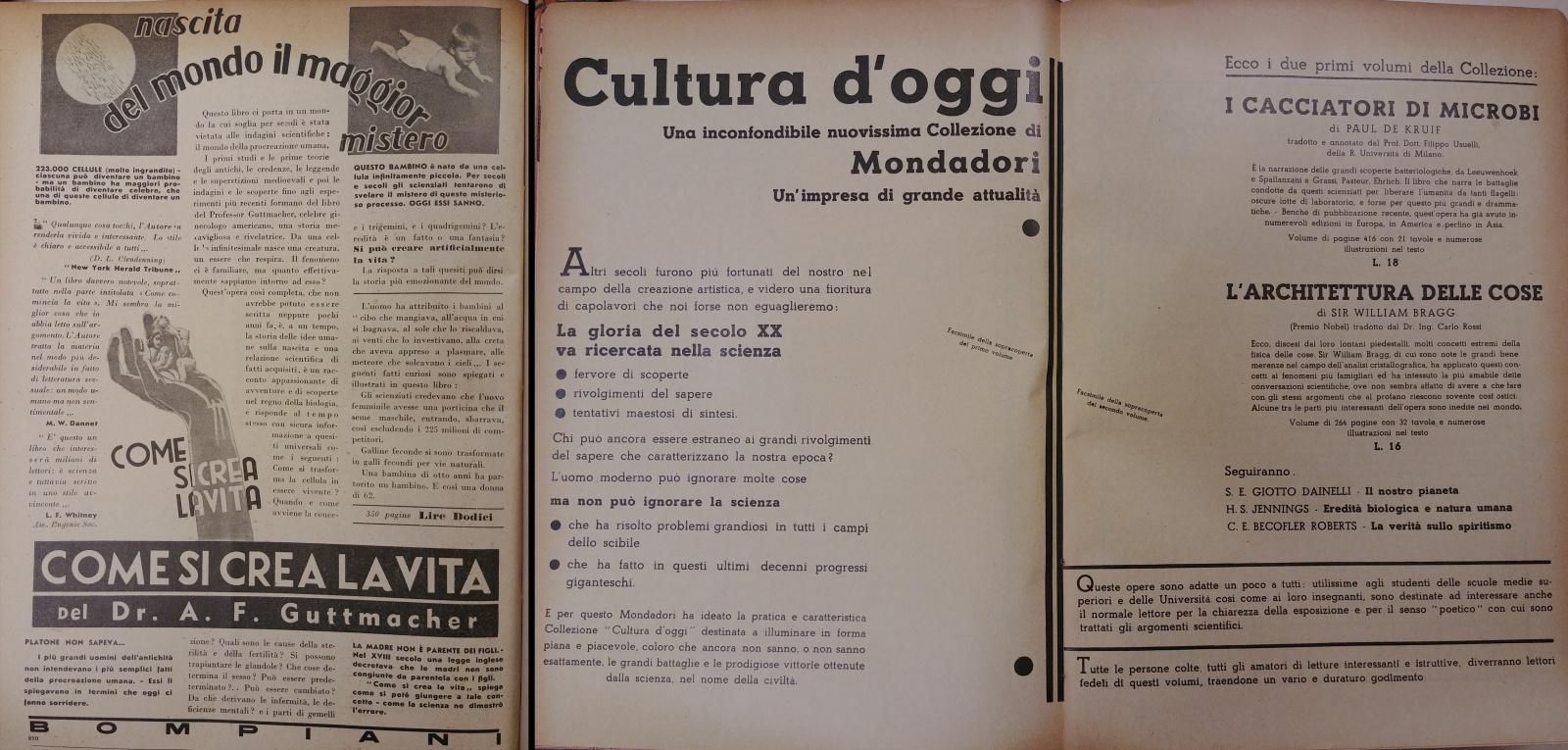 Libreria Per Libri Pesanti il giornale della libreria raccontato dalle immagini: 1934-38